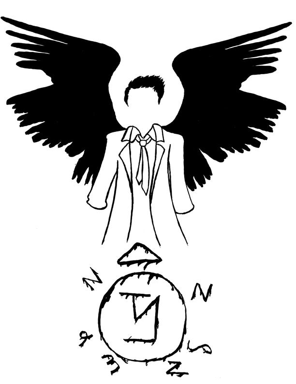 Supernatural: Minimal Castiel